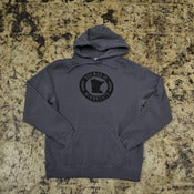 Image of BLACK LOGO - GREY HOODY