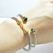 Image of Twisted Hook Cuff