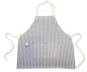 Image of Linen Stripe Apron