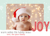 Image of  Joyful Snowfall Holiday Card