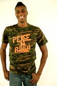 Image of #PeaceNphilly Camo Tshirt(Limited edition)