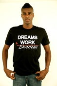 Image of DREAMS + WORK= SUCCESS(mens)