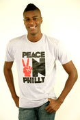 Image of Peace N Philly gray(New Design)