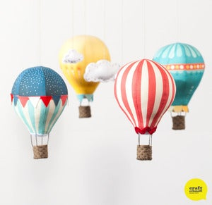 Image of Air Balloon Mobile Kit - Circus