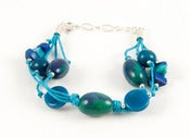 Image of Fiesta Bracelet Blue