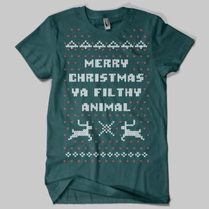 Image of Home Alone Christmas Sweater T-Shirt 