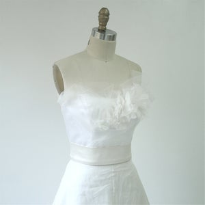 Image of Tousled Bustier - Happily Yours