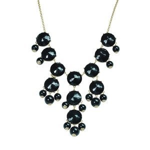 Image of Crew Bubble Statement Necklace:: Black
