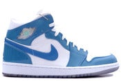 Image of Air Jordan 1 Retro White/ University Blue