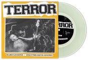 "Image of Terror ""Hard Lessons"" 7"" Clear Vinyl"