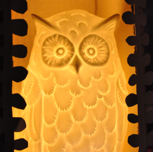 Image of OWL TEALIGHT HOLDER