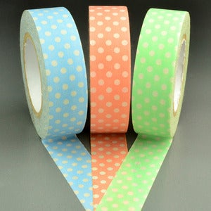 Image of Pastel Large Polka Dot Washi Tape