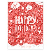 Image of TREKSTOCK CHRISTMAS CARD