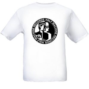 Image of HALF MACHINE RECORDS T-SHIRT 2013 LOGO **LIMITED**