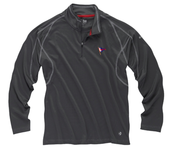 Image of BYC Gill UV Tech Zip Neck Polo