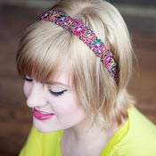 Image of Wildflowers Headband 2 Colors