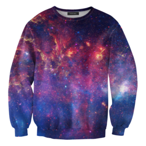 Image of Purple nebula sweater