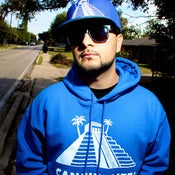 Image of Pyramid Pullover (in Blue) Holiday Collection
