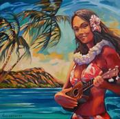 Image of &quot;UKULELE GIRL&quot;