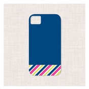 Image of color block multistripe iphone case