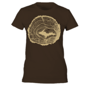 Tree Rings - Brown - Women's
