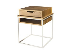 Image of Plastolux Cube Side Table