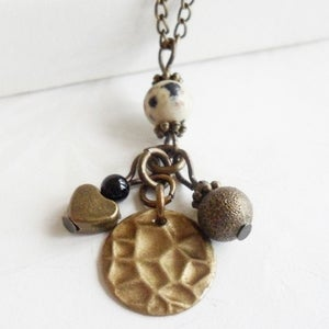 Image of Safari Charm Necklace