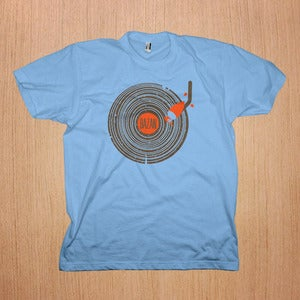 Image of Bazan: Wooden Record Shirt