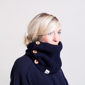 Image of Button Cowl Scarf