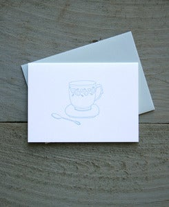 Image of Teacup Everyday Note Card