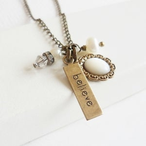 Image of Truly Believe Charmed Necklace
