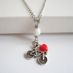 Image of Journey Bicycle Necklace