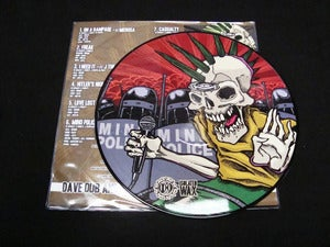 "Image of Dave Dub & The Sutter Cain Gang - ""Mind Police"" Picture Disc Wax"