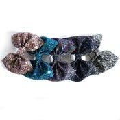 Image of Huge Glitter Hair Bow - Pick n Mix