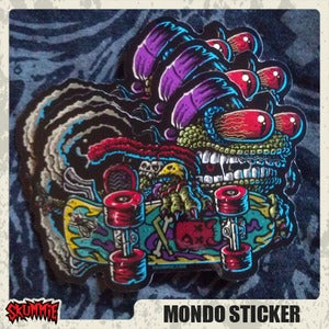 Image of Mondo Sticker