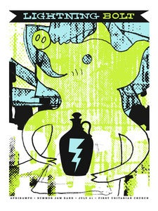 Image of Lightning Bolt Gig Poster