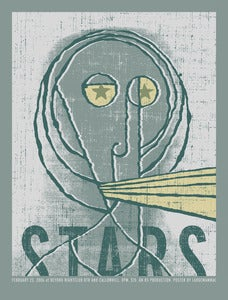 Image of Stars Gig Poster