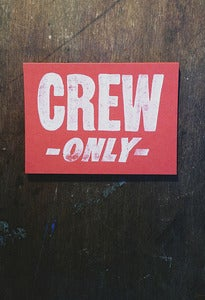 Image of Crew Only