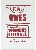 Image of Women's Football (stenciled print)