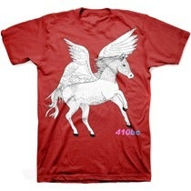 Image of PEGASUS HORSE limited edition reprint pre-order tee shirt
