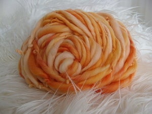 Image of Handspun Merino Wool - Oranges
