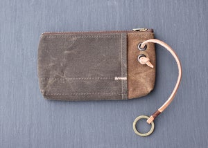 Image of Ring Pouch - Brown Wax