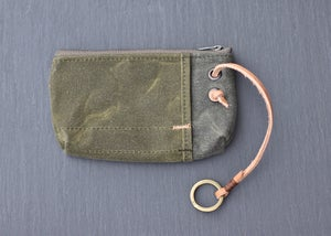 Image of Ring Pouch - Olive Wax