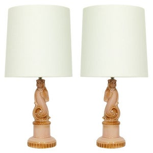 Image of The Cabot Twins - Restyled Vintage Table Lamp