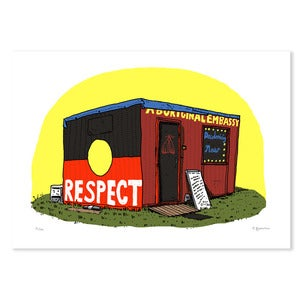 Image of Aboriginal Embassy, Digital print.