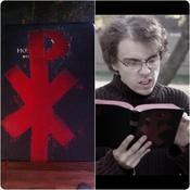 "Image of Book Of P from ""Hockey Pucks"" music video"