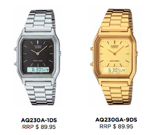 Image of Casio - Vintage Digital and Analog