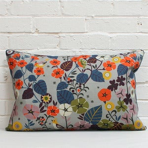 Image of NEW! Large Rectangular Scatter Cushion in Nasturtium