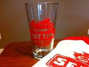 Image of 20oz Seat Time Pint Glass