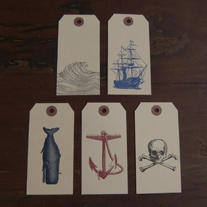 Image of Nautical Gift Tag Set